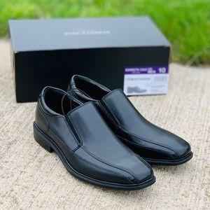 Kenneth Cole Black Slip On Dress Shoes Size 10
